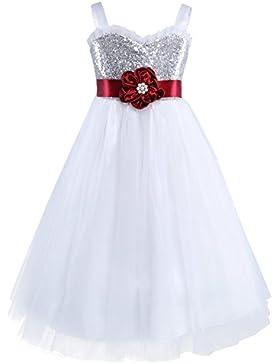 Sunny Fashion Vestido para niña Tanque Smocked Raya Ola Impresión El verano Sol 2-10 años