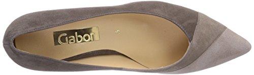Gabor Shoes 21.252.13_Gabor Damen Geschlossen Pumps Mehrfarbig (fango/kiesel/puder)