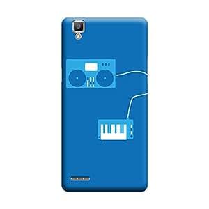 Qbic 3D High Quality Designer Mobile Back Case Cover For Oppo F1 (Premium Matte Finishing Back Case)