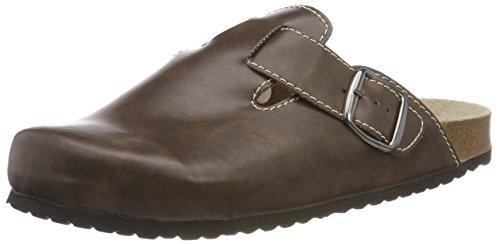 Supersoft Herren 176 018 Pantoffeln, Braun (Brown), 44 EU