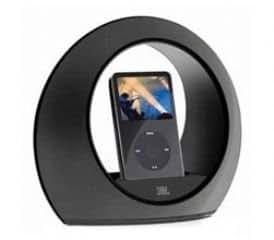JBL Radial micro Lautsprecher-System inkl. Fernbedienung für Apple iPod schwarz