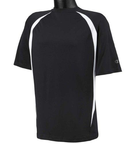 White Basketball Wei§er Basketball auf American Apparel Fine Jersey Shirt schwarz / weiß