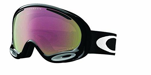 Oakley Unisex-Erwachsene A-Frame 2.0 704452 0 Sportbrille, Schwarz (Jet Black/Prizmhipinkiridium), 99