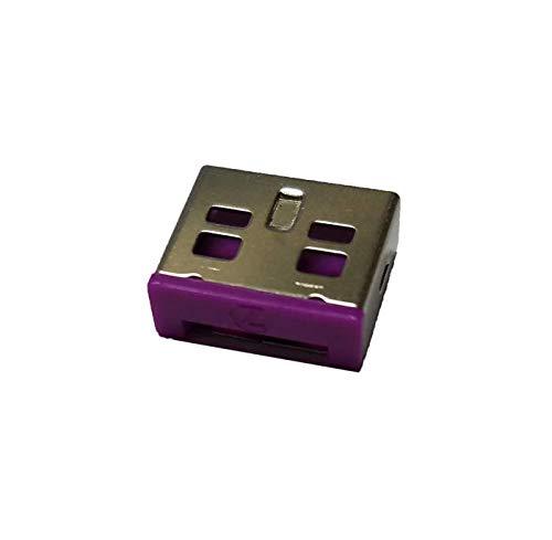 Entry-level-usb (Entry Level USB-Port-Schloss (Violett): 10 Stück + Einstiegs-Port, Schloss Schlüssel (Violett))