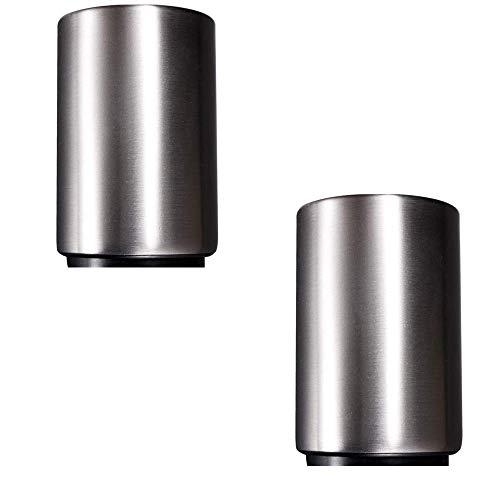 rflaschenöffner - Automatischer Profi-Schnellöffner aus Edelstahl mit Magnetverschluss zum Öffnen nach unten drücken Einfache Bedienung Geeignet für zu Hause ()