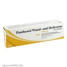 Panthenol Wund- Und Heilcreme Jenapharm 100g