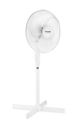 "Stagecaptain SV-160 PolarPower 16"" Standventilator (16\"" groß, 60° neigbar, 3 Stufen) Weiß"