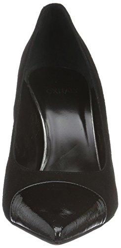 Oxitaly Sole 101, Escarpins femme Noir - Noir