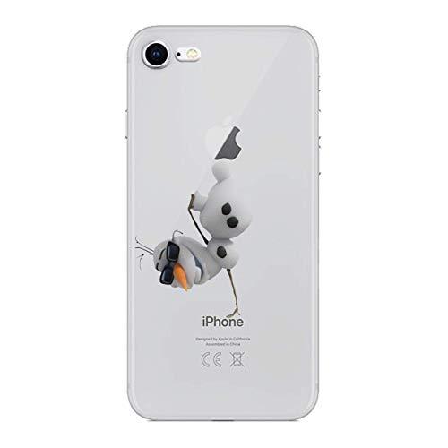 arikatur Silikonhülle / Gel Hülle für Apple iPhone 6s 6 / Schirm-Schutz und Tuch / iCHOOSE / Olaf ()