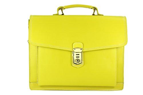 Belli - Borsa a mano Donna giallo limone