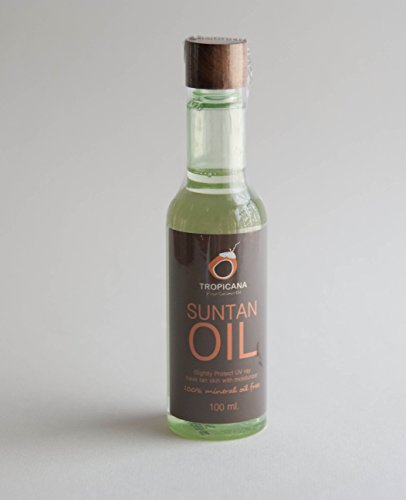 Tropicana Natürliches Kokos Bräunungsöl 100ml | Sonnenöl zur natürlichen Bräunung | Naturkosmetik