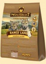 """Wolfsblut Range Lamb PUPPY für Welpen mit Lamm und Reis """"SPARPACK"""" 2x2Kg"""