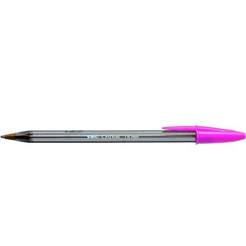 Bic Cristal Fun - Bolígrafo, color rosa