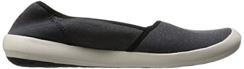 adidas Boat Slip-On Sleek, Chaussures de Sport Femme Blanc / Noir (Brgros / Blatiz / Negbas)