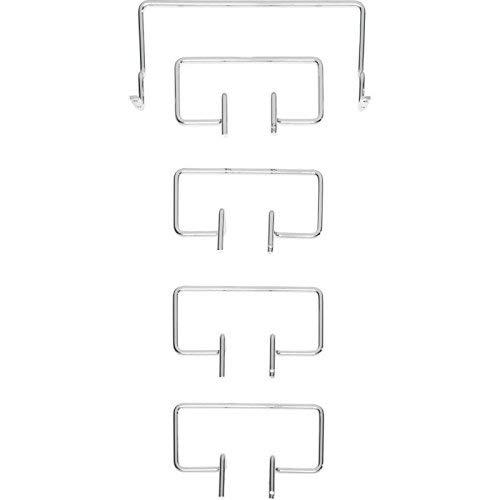 Image of Tempur Matratzenhalter Satz C für freistehende Systemrahmen, Metall, Chrom, One Size