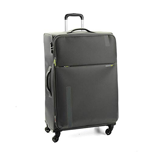 Roncato Speed Trolley Grande Espandibile - 4 Ruote, 78 Cm, 103 Litri, Antracite