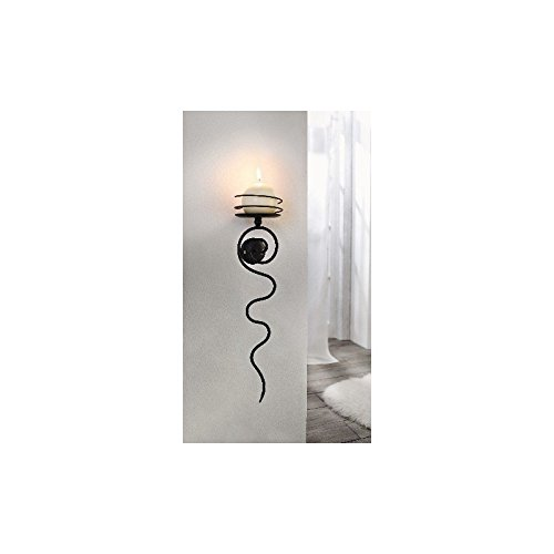 'Luce spirale da parete