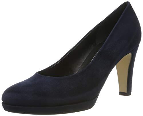 Gabor Shoes Damen Fashion Pumps, Blau (River 46), 43 EU
