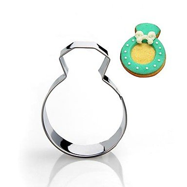 nt Ring Form Cookie Cutter, Edelstahl ()