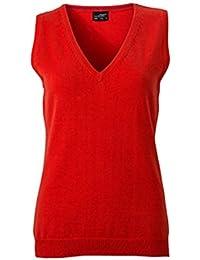 Klassischer Damen-Baumwoll-Pullunder im digatex-package