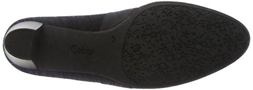Gabor Comfort Fashion, Escarpins Femme Noir (Schwarz (Fu Rot) 57)