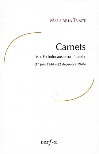 Carnets : Tome 5,