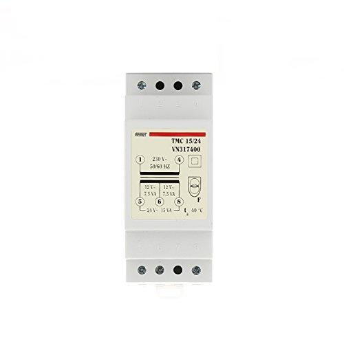 Trasformatore modulare di sicurezza TMC 15/24 con doppio isolamento Vemer