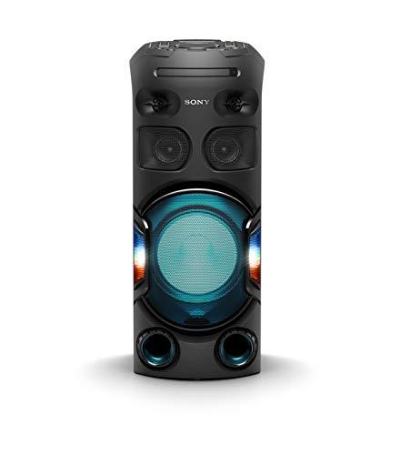 Sony MHC-V42D Enceinte High Power avec Jeu de Lumières Multicolores