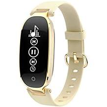 Teng Peng Reloj Inteligente - Bluetooth inalámbrico Pulsera Inteligente Pantalla en Color Reloj Deportivo Reloj Inteligente