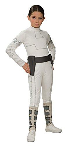 Padme Amidala 'Star Wars' Kostüm für Mädchen Gr. S - L, Größe:M (Mädchen Star Wars Kostüm)