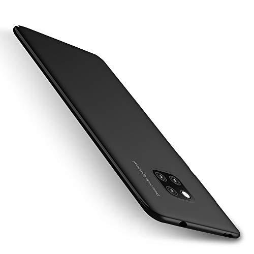 X-level Huawei Mate 20 Pro Hülle, [Kinght Serie] Hart Handlich Premium PC Material Gutes Gefühl Handyhülle Schutzhülle für Huawei Mate 20 Pro Case Cover - Schwarz Key-mate Light