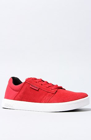 SUPRA Shoes KIDS WESTWAY/RED BLACK-WHITE Rosso (rosso)