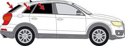 Vitres teintées SANS FILM Q3 SUV après 2011 Art. 28494-5 Solarplexius