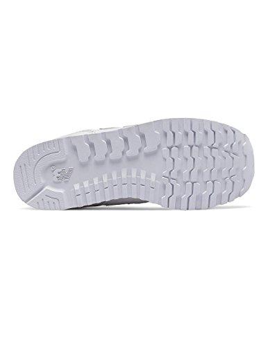 New Balance Kj373awy M, Sneakers Basses Mixte Enfant Blanc
