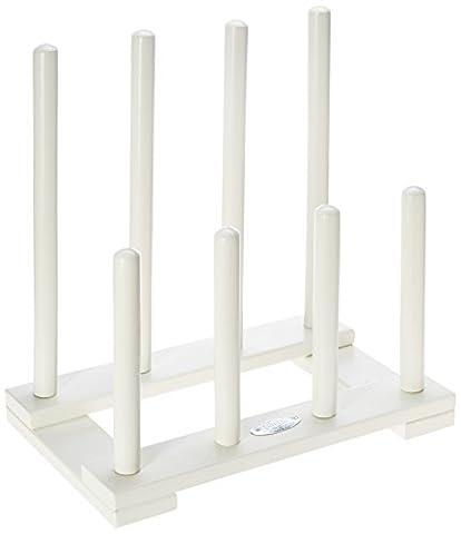 Esschert Design Range-botte blanc