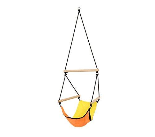 Amazonas AZ-2030485 Kinderhängesessel Kid's Swinger  3 - 6 Jahre bis 60kg Gelb-Orange