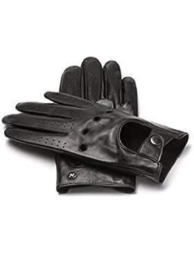 napoDRIVE - Touchscreen Echtleder Handschuhe für Herren