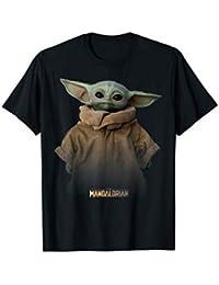 Star Wars The Mandalorian The Child Simple Portrait T-Shirt