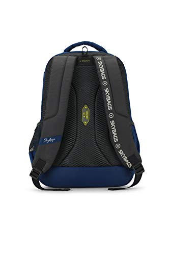 Best skybags backpack in India 2020 Skybags Figo Plus 01 34 Ltrs Blue Casual Backpack (FIGO Plus 01) Image 4
