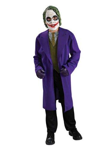 tman für Kinder , Größe:M (Batman Dark Knight Kostüm Kinder)