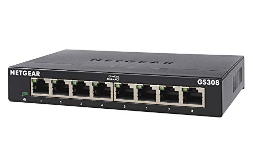 NETGEAR 8-Port Gigabit Ethernet ...