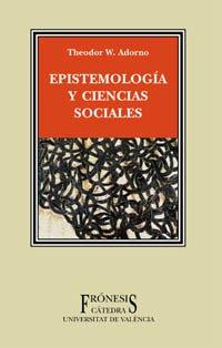 Epistemología y ciencias sociales (Frónesis)