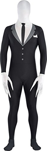 Amscan International Adults Slender Man Party Suit Costume (X-Large) by Amscan (Magic Kostüm Man)