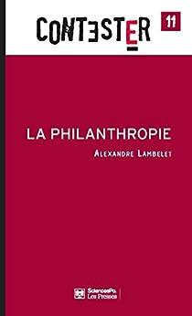 La Philanthropie par [Lambelet, Alexandre]