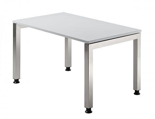 Ensemble de trois acrylique de bureau en forme de u base du