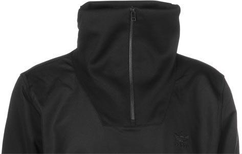 adidas Herren ST HZ Tracktop Sweatshirt Schwarz (NEGRO)