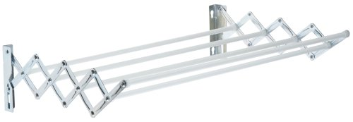 Leifheit 81060 MEC 60 - Tendedero de pared plegable
