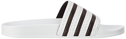 Adidas 280648, Tongs Homme Blanc et noir
