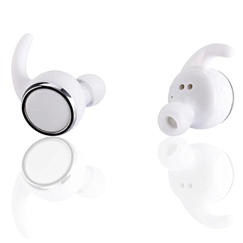 Android-home-dock (Xshuai Lange Standby Mini Twins Wireless Bluetooth Universal Multipoint Anschlüsse 4.2 Stereo Headset In-Ear Ohrhörer Earbuds MIC Für iPhone 7/7 Plus 6s / 6s Plus, Google Pixel, Samsung, Tabletten, Samsung, LG V20 Psp / Ipod / Mp3 Player / Android (Schwarz Weiß (Weiß))