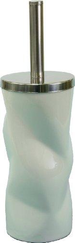 MM Spezial 2081 Brosse WC et Support, Porcelaine, Blanc, 25 x 25 x 40 cm